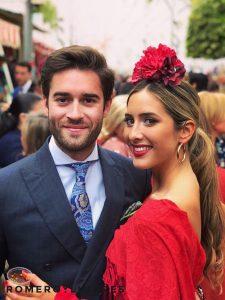 Traje de flamenca roja