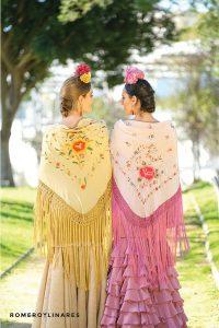 mantones de flamenca