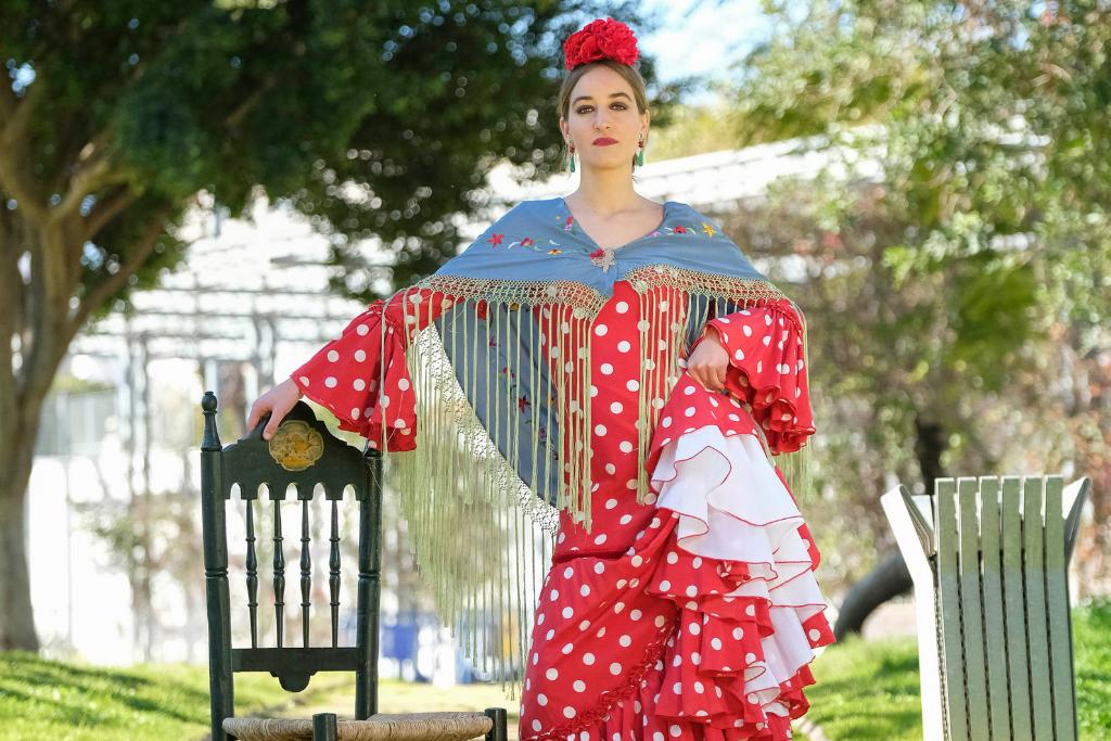 Traje de flamenca rojo 80d96590c736