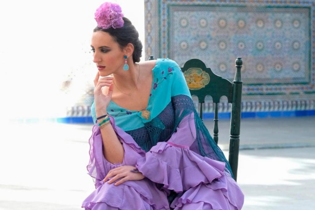 Traje de flamenca en Sevilla